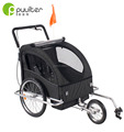 Black Bike Trailer assessed product by Alibaba&TUV with EN15918:2011&EN1888 CE ISO9000