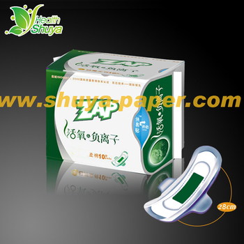 Disposable Soft Cotton Natural Sanitary Pads