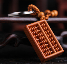 Abacus crafts key chain traditional chinese culture