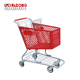 Best selling supermarket carry push storage trolley