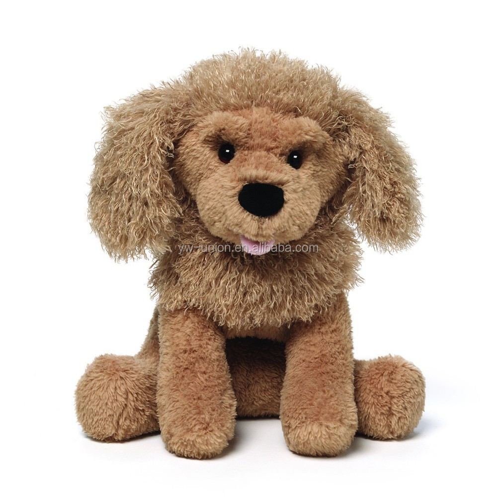 furry animal /handmade furry animals toy /plush dog toy