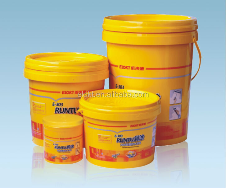 Roofing Application Elastic Acrylic Waterproof Coating
