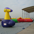 Stunning Full Color boot camp inflatable obstacle course