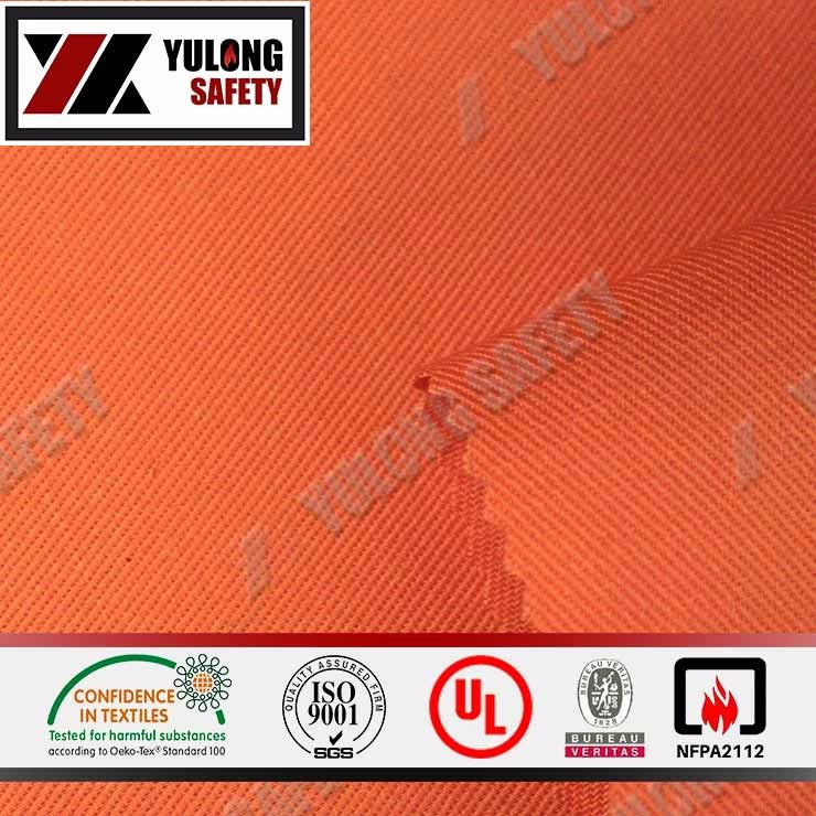 High Quality Inherent Flameproof And Anti Static Aramid Fabric For Oil Industry