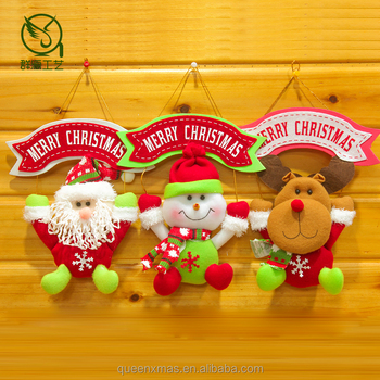 Colorful Personalised new chinese Hanging Christmas Decoration