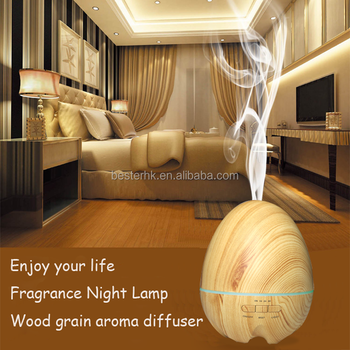 Customized Wood Grain Aroma Diffuser/Scent Beauty Humidifier