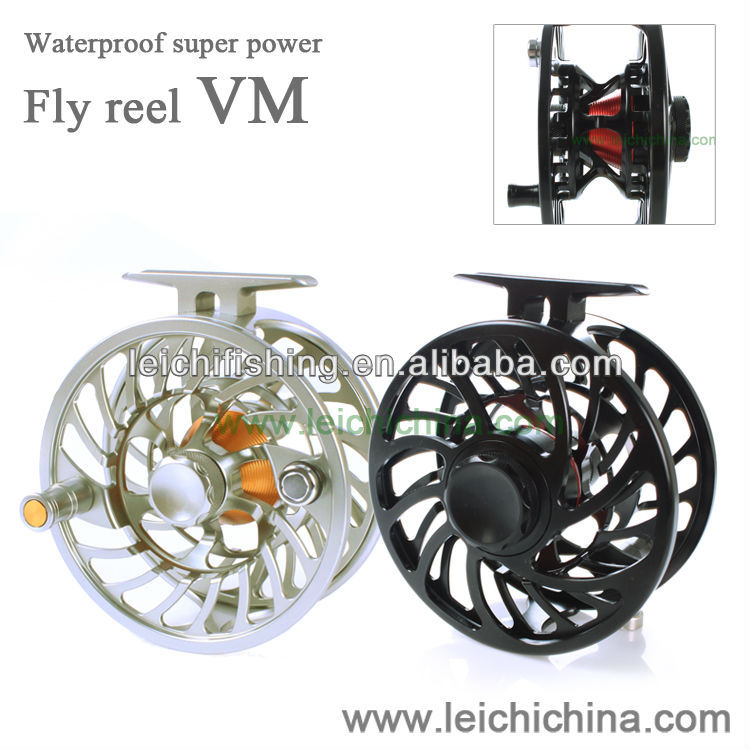 Amazing quality machine cut fly fishing saltwater fly reel