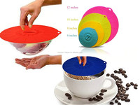 Silicone Cooking suction Lids/ Microwave Screen Bowl Covers/silicon storage cover