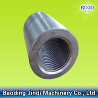 building material rebar coupler/parallel thread screw sleeve