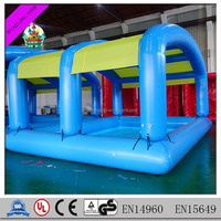 high quality swimming pool equipment inflatable container swimming pool