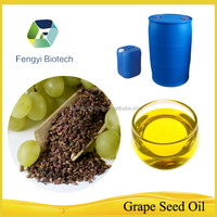 100% natural plant oils cosmetic carrier oil cold pressed grape seed oil