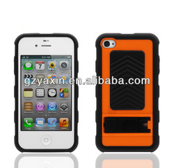 Wholesale factoty directly cheap price plastic mobile phone case for iphone4 4s
