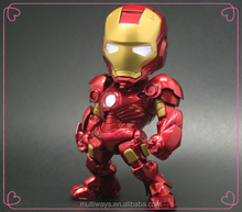 10+ year factory Make Custom Plastic Superhero Ironman action figure