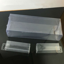 PVC PP PET clear plastik box packaging folding box