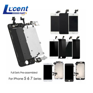 Cell Phone Full Replacement Touch Screen Display Digitizer Assembly Mobile LCD Screen For iPhone 5 5C 5S se 6 6s 6s 7 Plus