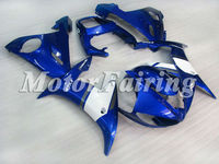 for yamaha yzf r6 2005 bodykit 2003 2004 2005 yzf r6 03 04 05 r6 fairing kit r6 05 r6 race fairings 03 05 yzf r6 white blue