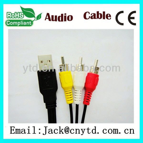 Good Speed hdmi to vga rca x 3 cable converter 1080p High Quality