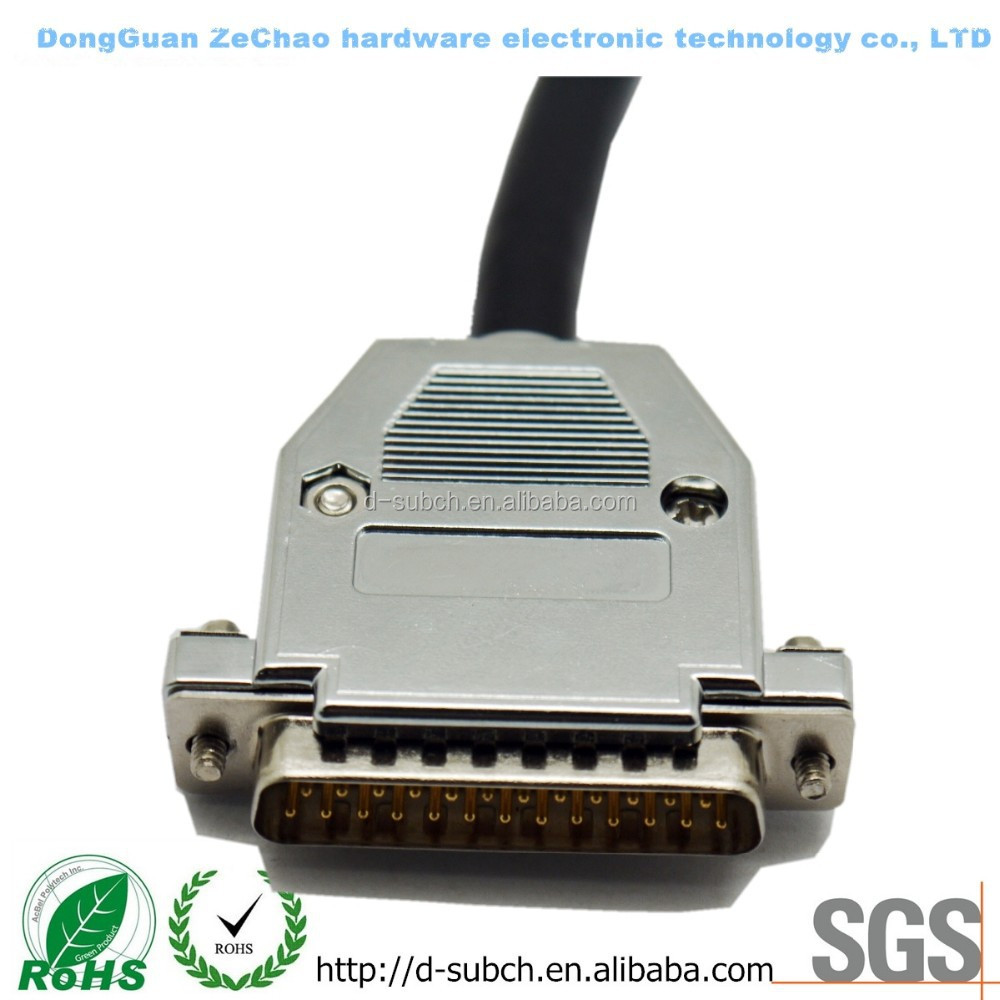 D-SUB 15 Pin Connector VGA Cable