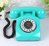 Fashion modern gpo blue retro antique rotary wall old desk phone