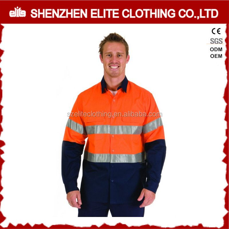 hi vis construction mining safety oil refinery work wear