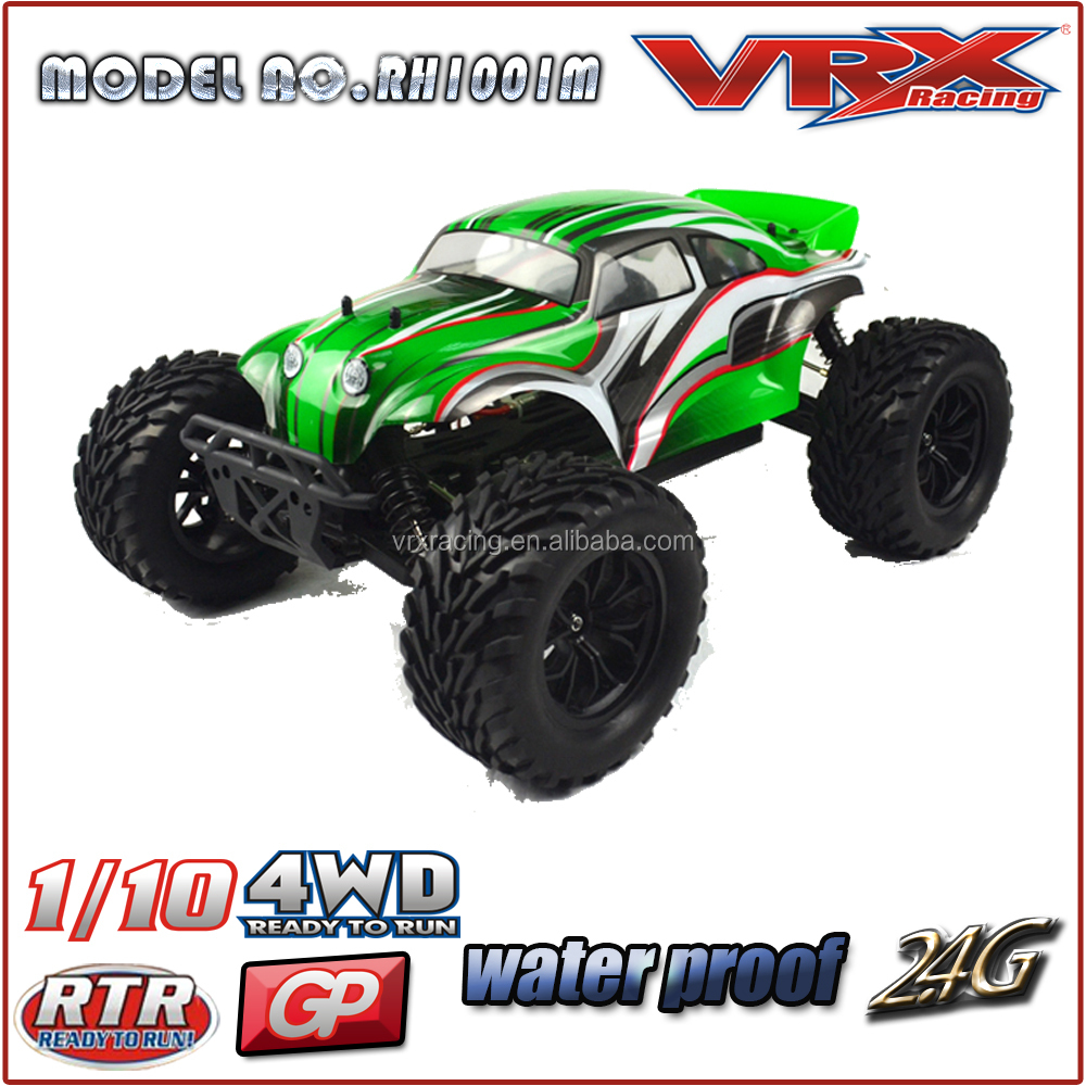 1/10 rc nitro car,Mega wheel rc truck car, 4wd RTR nitro powered car with starter Kit