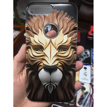 For iphone 5/6/7/8/x case phone cover mobile back cover custom 3D printing emboss phone case