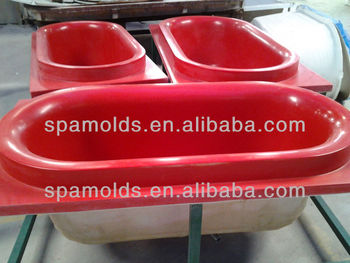 OEM factory classic common acrylic bathtub mould with fiberglass