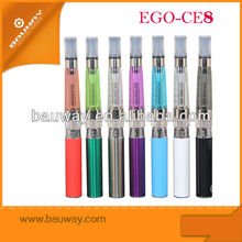 Stainless steel Mesh eGo Clearomizer Wicking Invisible CE8 Atomizer