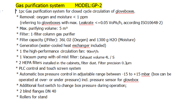 Inert Atmosphere Stainless Glove Box for Welding Machine and Welding Rod (Oxygen & Moisture <1PPM)