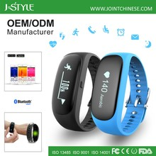 Popular sport bluetooth fitness tracker heart rate wristband with Continuous Heart Rate Monitor