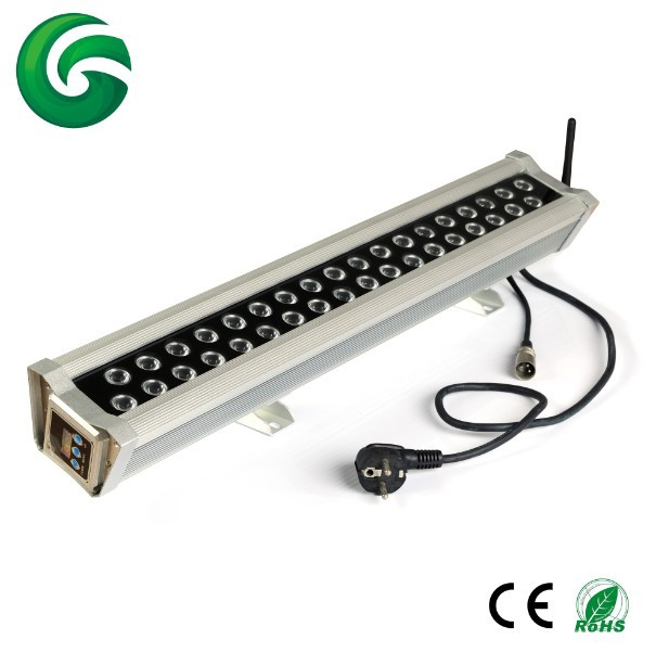 72W Wireless DMX Wall Washer 100-240V AC Waterproof Project Light 3years warranty