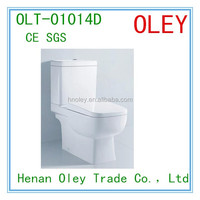 Promotion Bathroom ceramic S trap and P trap one piece washdown toilet