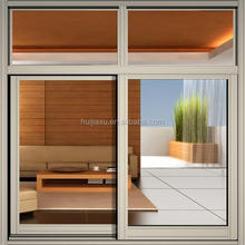 perfert aluminium brown champagne color use aluminum sliding window