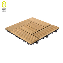 2018 new flooring tiles designs gazebo anti-slip outdoor wooden tiles floor for balcony