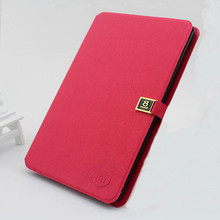 2014 hot sale leather flip belt clip case for ipad mini