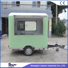 JX-FS220R Pizza vending machines van kiosk for sale, street mobile food stall cart pancakes