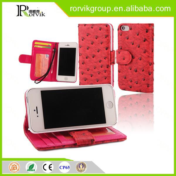 Mobile phone case for iPhone 5S, pu leather case for iPhone5, for iPhone 5 leather case