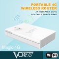 2014 VONETS new WiFi product Magic 4G portable mobile power bank 12000mah