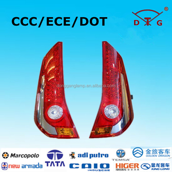 Oem manufacturer donggang lamps 24v led sunlong bus rear light