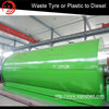 Top Design Continuous Waste Plastic Pyrolysis Machine