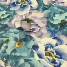 high quality floral printed cotton fabric textile