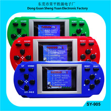 high quality color games SY-905 video game with 1.8'' TFT screen pocket game console