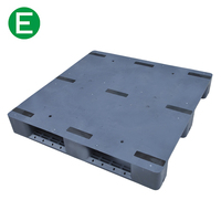 High Efficiency Euro Standard Size Black Plastic Pallets In China