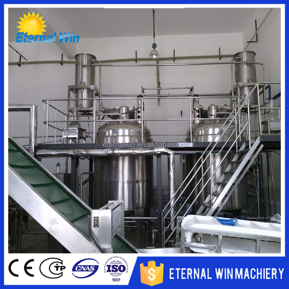 Herb plant oil distillation machine essential oil extracting machine