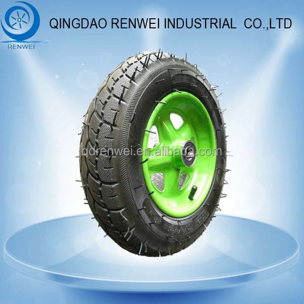 "13 inch Pneumatic Tyre for Wagons 13""* 3.00-8 Rubber Wheel with Pneumatic Tyre"