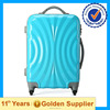 Colorful fashion suitcase travel luggage trolley