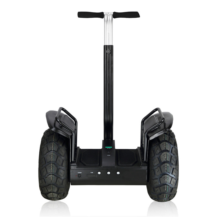 19 inch Big Two wheels self balancing Standing scooter Mobility Snowmobile Off Road Handrail Scooter
