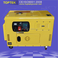 3 phase Cheap price portable 10 kva diesel generator