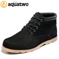New Design Full Grain Leather Casual Boots