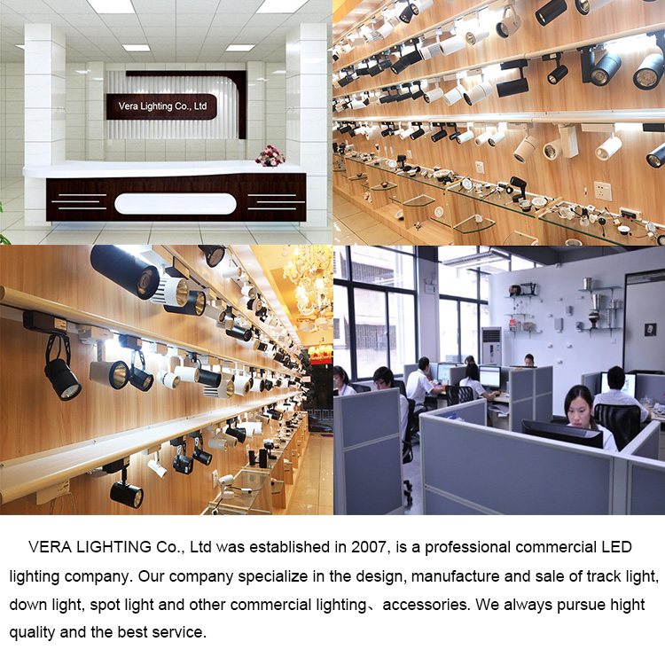 Wholesale factory price aluminum track light led linear track light 7w led for clothing shop